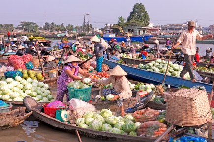 Cabbage Exchange, Mekong River