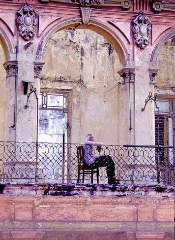 Thoughtful Man Havana Cuba