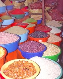 Oax Market Beans 8-10