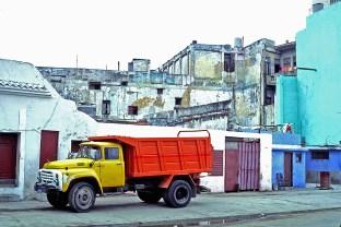 cu yellow truck