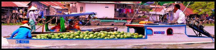 long boat melons