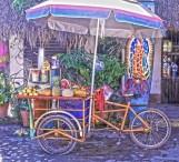 sayulita bike fruit stand