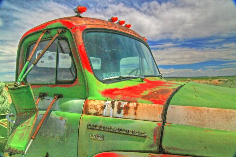 truck klamath international sky hdr