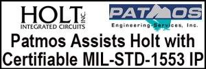 Holt Patmos Certifiable MIL-STD-1553 IP