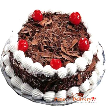black forest cake round shape 2 patna