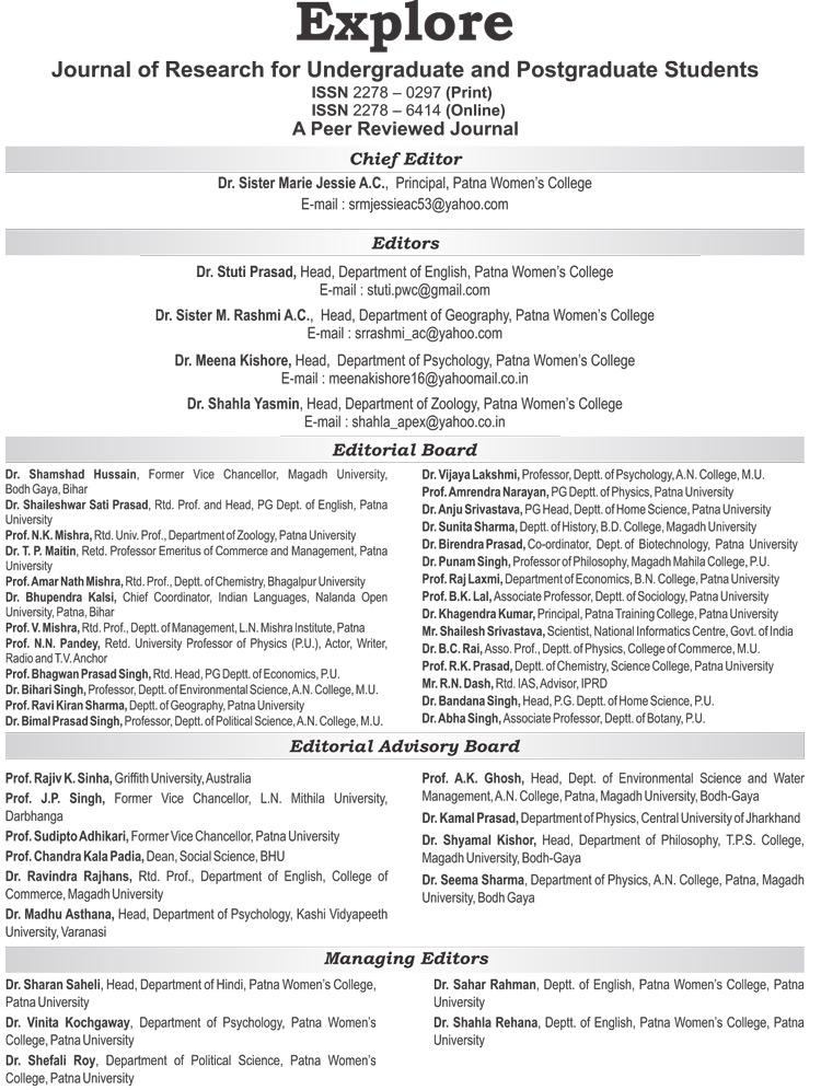 Best College in Patna | Explore-7-Editorial-Board