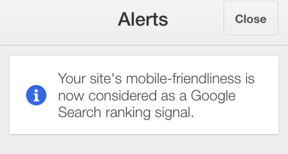 Google Adsense Warns Mobile Friendly