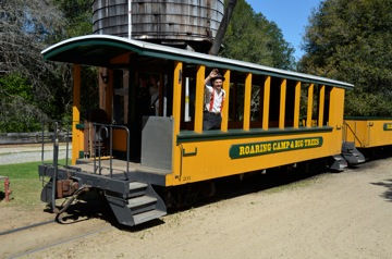 Roaring Camp Railroad, Felton, CA, USA