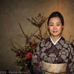 Shiborizome kimono, Kyoto, Japan