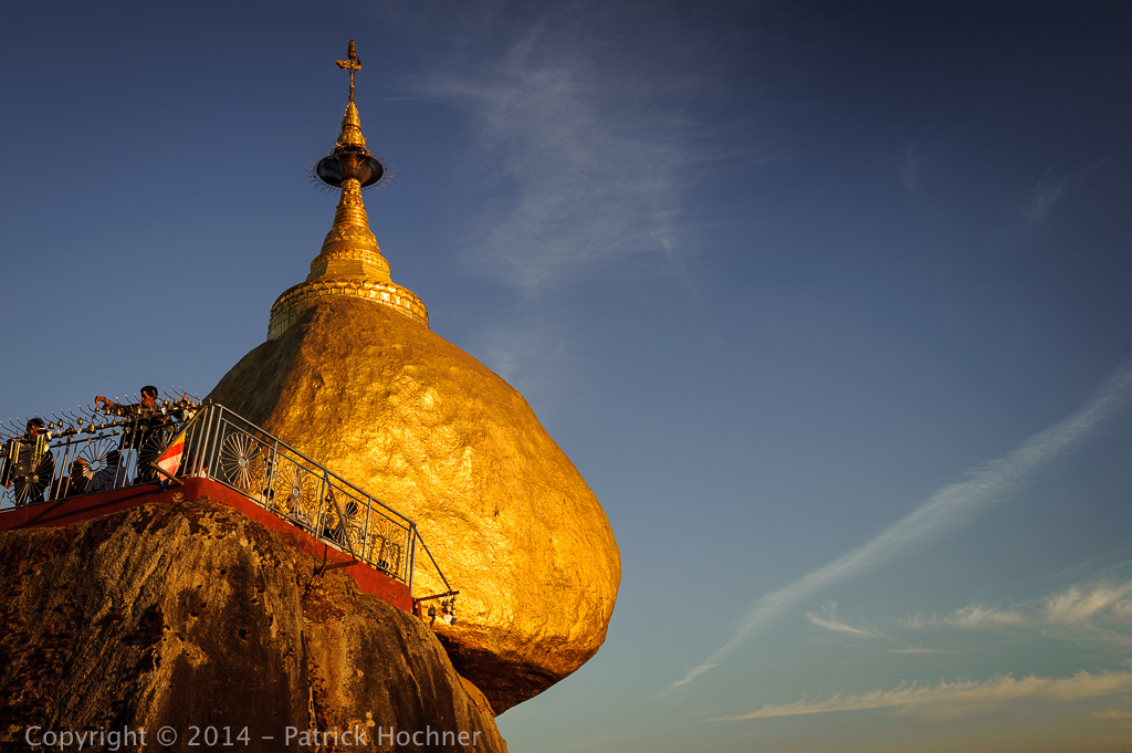 The Golden Rock, Kyaikhtiyo, Burma