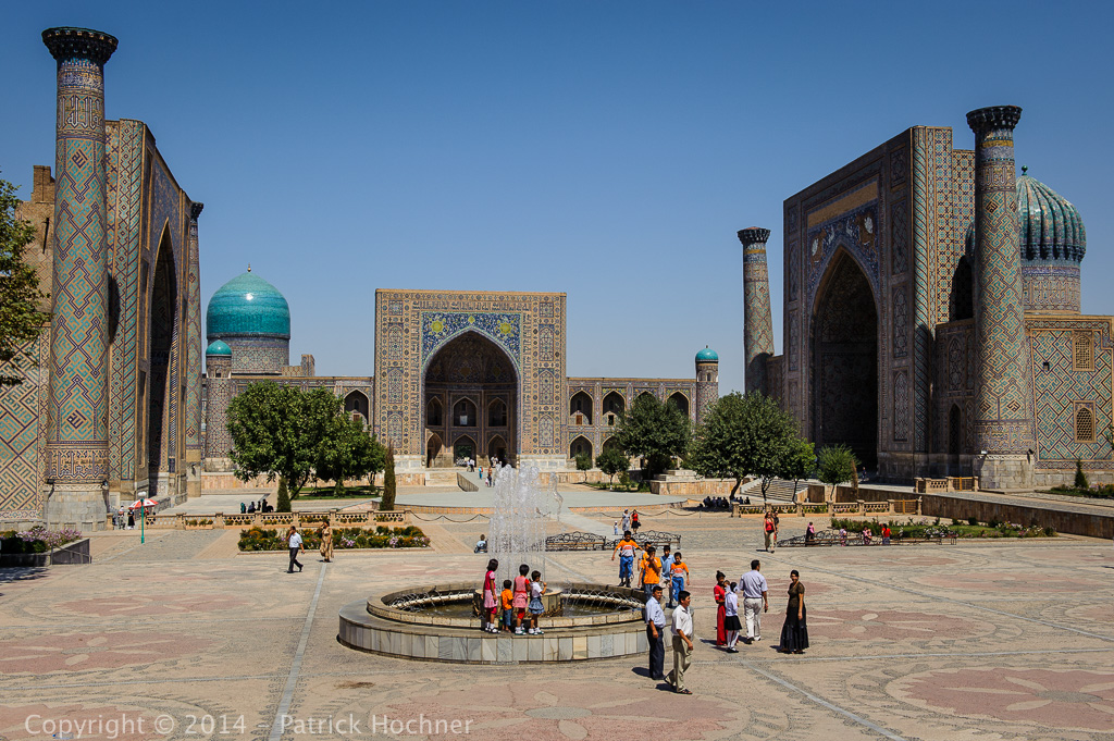 The Registan square, Samarkand, Uzbekistan