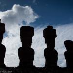 Moai, Île de Pâques, Chile