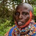 Maasai woman, Amboseli, Kenya