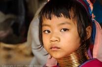 Jeune Kayan ou Padaung, Thaïlande