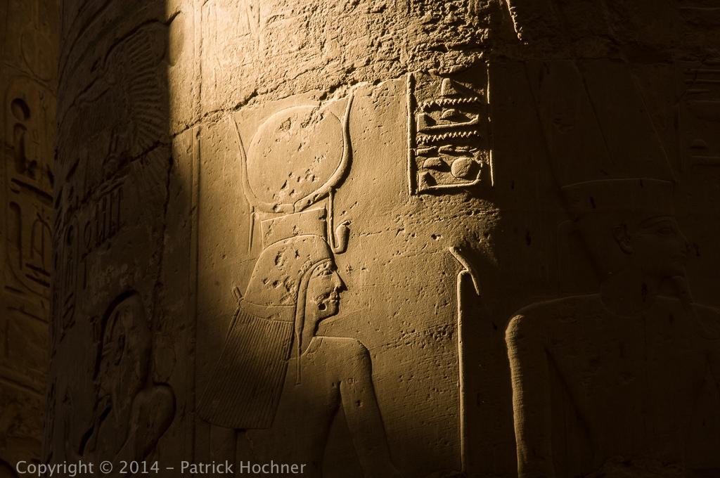 Temples de Karnak, Luxor, Egypte