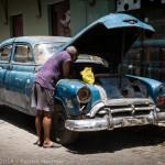 Vieille Américaine, La Havane, Cuba