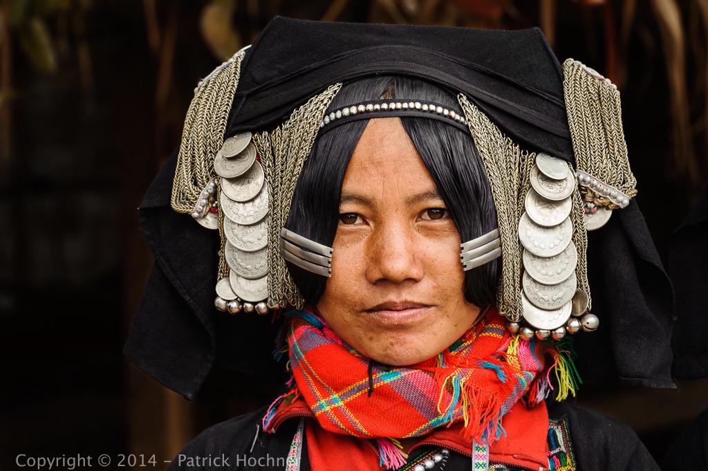 Femme Akha Pixo, Ban Yo, Laos