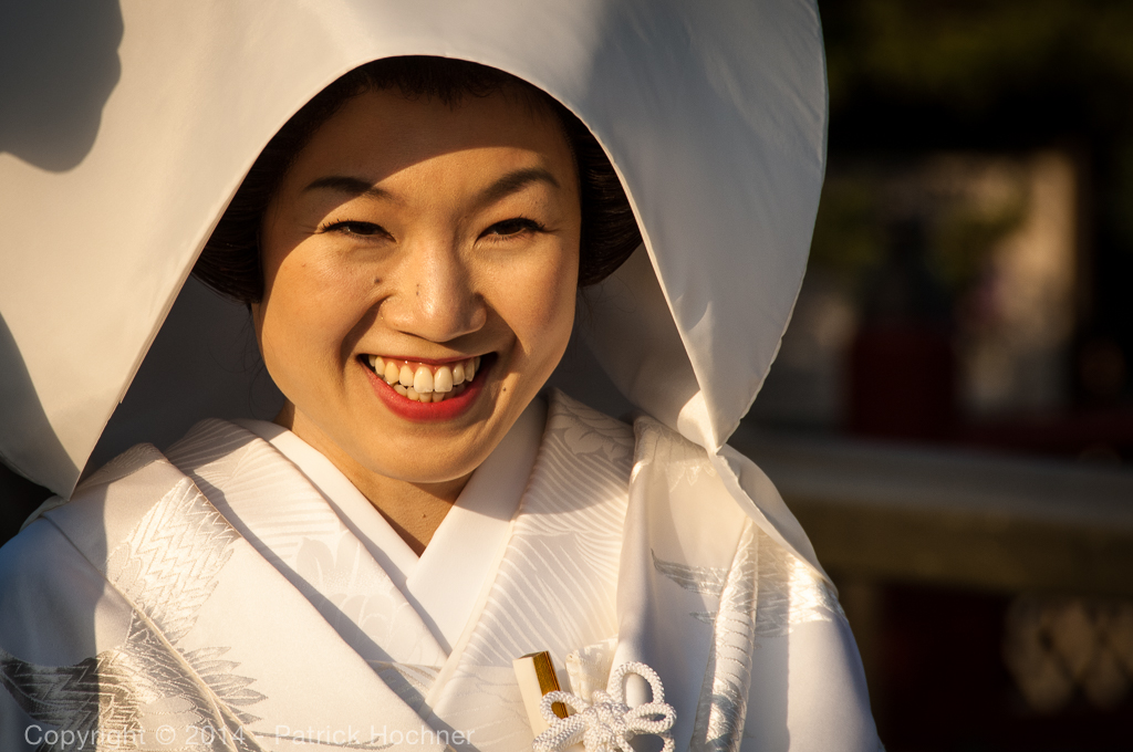 Japanese bride, Kamakura, Japan
