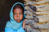 Jeune fille du Guéraltha, Éthiopie