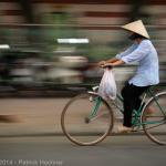 Dans les rues de Hanoi, Vietnam