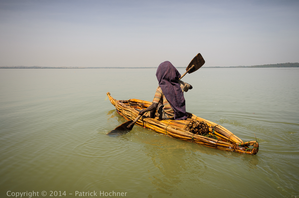 Tankwas on Lake Tana, Ethiopia