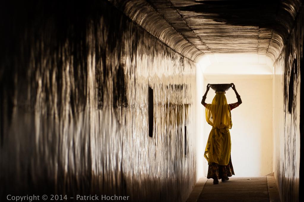 Le corridor en Inde
