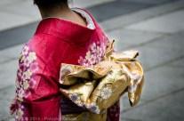 Kimono de fête, Tokyo, Japon
