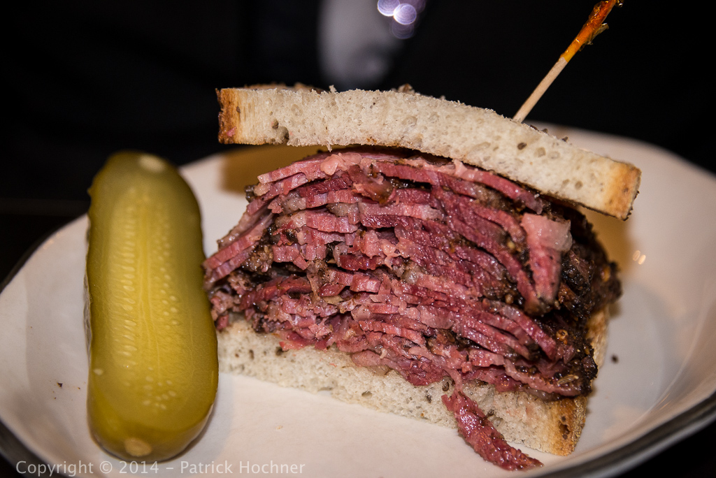 A Pastrami sandwich in NYC!