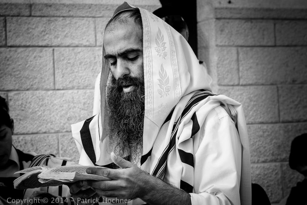Prière au Mur, Jérusalem