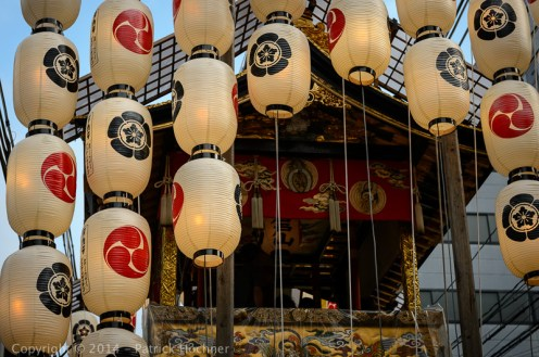 One of the float, Gion Matsuri, Kyoto