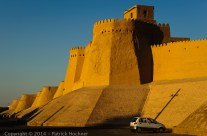 Murs de Itchan Kala, Khiva, Ouzbékistan