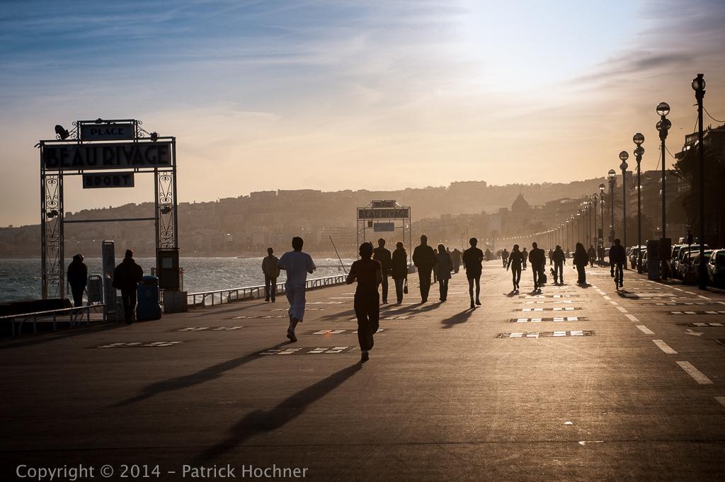 The Promenade des Anglais, Nice, France