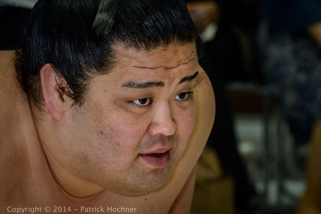 Sumo wrestler, Kyoto, Japan