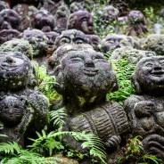 The Rakans of Otagi Nembutsu Temple, Kyoto