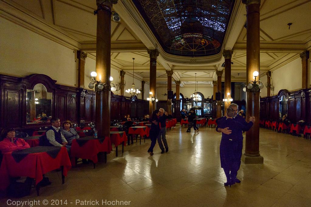 Milonga La Confiteria Ideal, Buenos Aires, Argentina