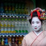 Maiko Taiken around Kyoto, Japan