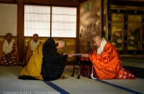 Ordination d'un moine, Kyoto