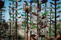 Le Ranch Bottle Tree d'Elmer, Californie