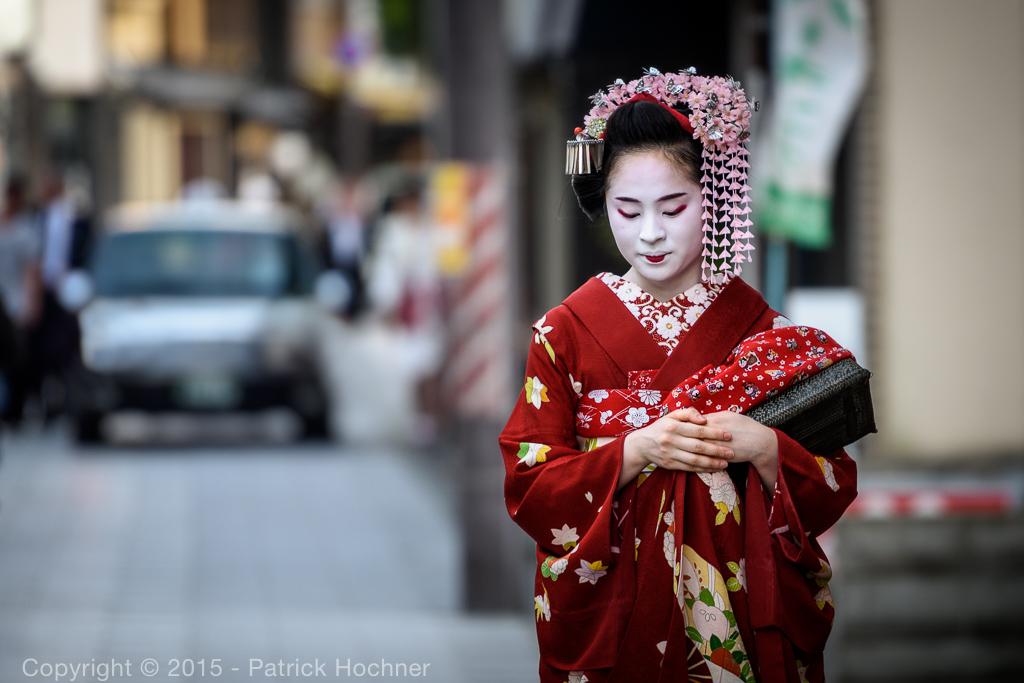 Maiko à Miyagawa-Cho, encore