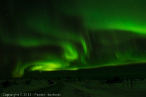 Aurora Borealis, the northern Light, Hov, Lofoten, Norway