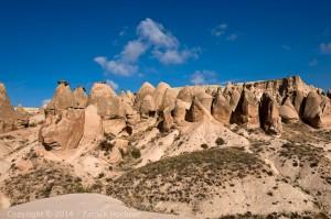 The fairy chimney, Cappadocia