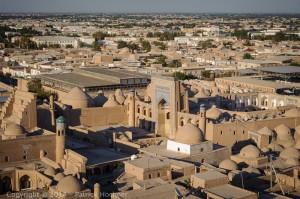 Itchan Kala, the old city, Khiva, Uzbekistan
