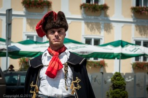 Member of the Kravat Regiment, Croatia