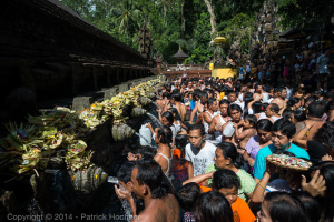 Full moon day, Tirta Empul Temple, Bali