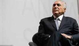 São Paulo - Presidente Michel Temer participa da abertura da 18 Conferência Anual Santander (Beto Barata/PR)