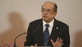 Brasília - O presidente do Tribunal Superior Eleitoral, Gilmar Mendes, abre o 7 Encontro Nacional das Escolas Judiciárias Eleitorais (Antonio Cruz/Agência Brasil)