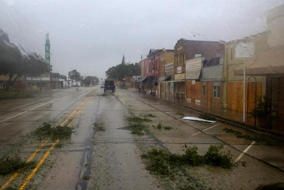 Houston cidade do Texas foi fortemente afetada pela tempestade tropical Harvey