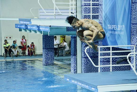 Taipei - Brasileiro Jackson Rondinelli vai disputar a final da Universíade na plataforma de 10 metros dos saltos ornamentais (Divulgação/Felipe Hermann/CBDU)