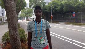 Tenista de Uganda estuda medicina na melhor faculdade de seu país - Foto Vinicius Lisboa/Agência Brasil