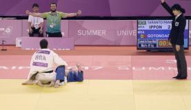 Brasileiro Vinícius Panini conquistou medalha de bronze no judô